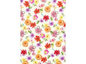 Balící papír květiny 2 x 0,70 m