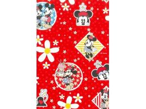 Balící papír Mickey a Minnie 2 x 0,70 m