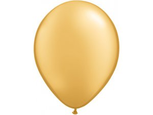 "11"" Balónek Qualatex - zlatý"