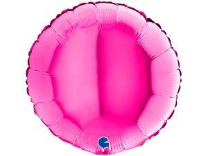 Balónek fóliové kulaté Magenta 46 cm SP