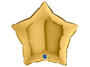Balónek fóliové hvězda zlatá5 46 cm SP