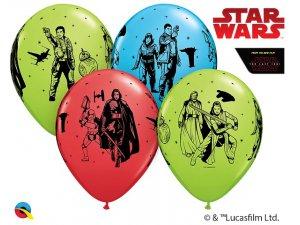 """12""""/30cm latexový balónek - Star Wars: Poslední Jedi 6ks"""