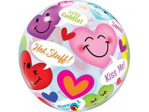 """22"""" bublina - Zamilovaná srdíčka"""