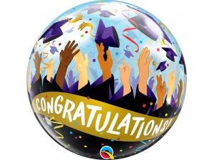 "22"" bublina - Gratulace k promoci!"