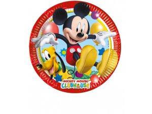 Papírové talíře Disney Mickey 23cm/8ks