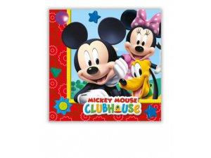 Papírové ubrousky Disney Mickey 33x33cm / 20ks