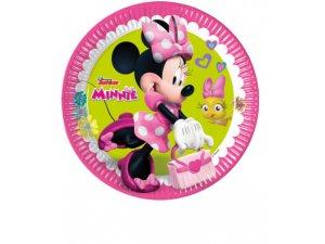 Papírové talíře Disney Minnie Happy Helpers 23cm/8ks