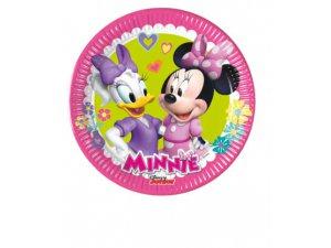 Papírové talíře Disney Minnie Happy Helpers 20cm/8ks