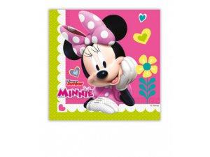 Papírové ubrousky Disney Minnie Happy Helpers 33c33cm / 20 ks