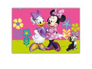 Plastový ubrus Minnie Happy helpers 120x180cm