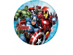 Papírové talíře Avengers 23cm/8ks