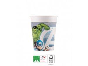 EKO papírové kelímky - Avengers Marvel 200ml/8ks