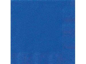 Papírové ubrousky - královská modrá  20 ks