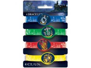 Gumové náramky Harry Potter 4ks
