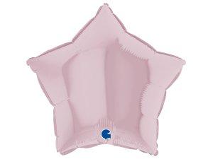 Balónek fóliové hvězda růžová pastel 46 cm SP