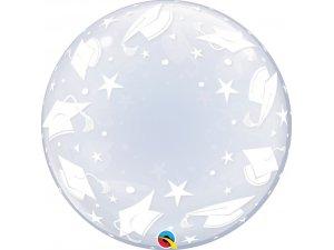 """24"""" DECO bublina - Čepičky promoce"""