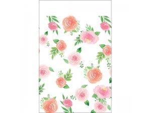 Plastový ubrus - Květiny 137 x 259 cm