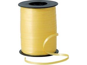 Stuha 5mm x 500m žlutá