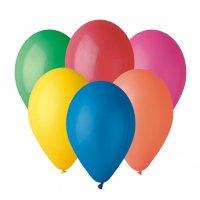 Balónky pastelové
