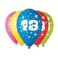Balónky s čísly