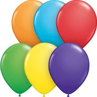Balónky malé dekorační 13 cm