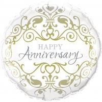 Balónky výročí oslavy